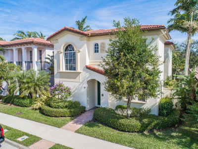 Palm Beach Gardens Single Family Home For Sale: 74 Stoney Drive