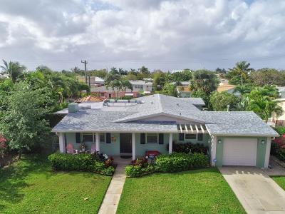 West Palm Beach Single Family Home For Sale: 242 Rutland Boulevard