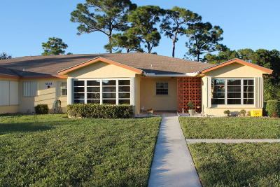 Delray Beach Single Family Home For Sale: 5044 Lakefront Boulevard #C