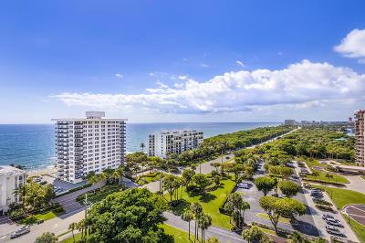 Boca Towers, Boca Towers Condo, Boca Towers Condo Portion Condo For Sale: 2121 Ocean Boulevard #1605-E