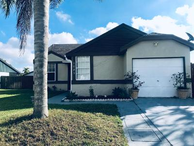 Royal Palm Beach Single Family Home For Sale: 1085 Grandview Circle