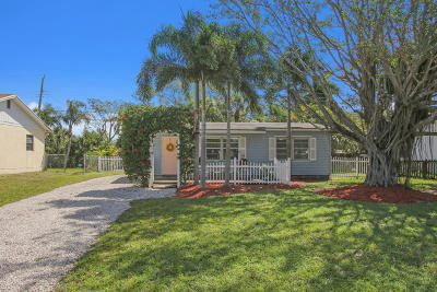 Jupiter Single Family Home Contingent: 601 Pennock Lane