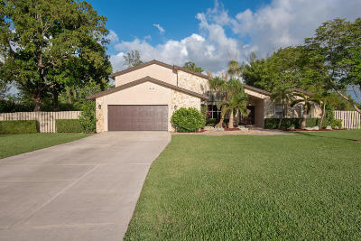 Boca Raton Single Family Home For Sale: 22210 Woodset Lane