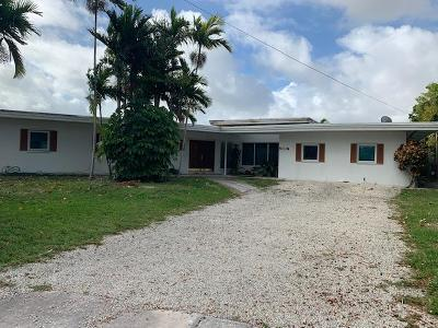 Miami-Dade County Single Family Home For Sale: 12610 Hickory Road