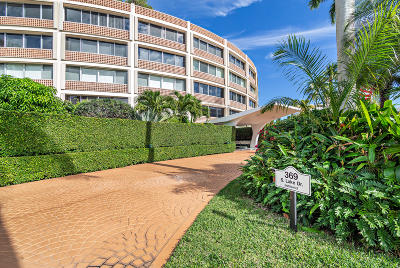 Palm Beach Condo For Sale: 369 S Lake Drive #3f