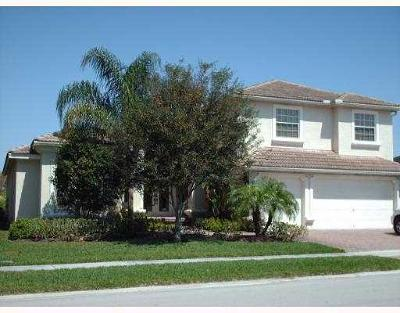 Lake Worth Single Family Home For Sale: 9781 Via Amati