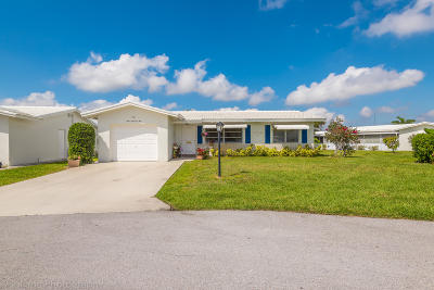 Boynton Beach, Gulf Stream Single Family Home Contingent: 901 SW 17th Street