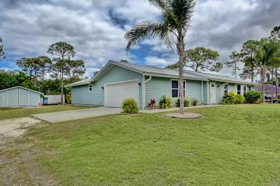 Loxahatchee Single Family Home Contingent: 17915 Orange Grove Boulevard
