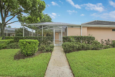 Palm Beach Gardens Single Family Home Contingent: 4702 Lake Catherine Drive