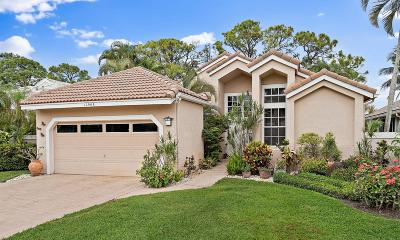 Palm Beach Gardens Single Family Home For Sale: 12968 Touchstone Place