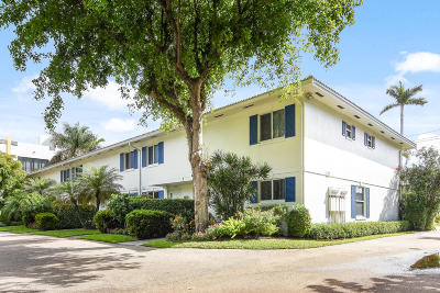Palm Beach County Townhouse For Sale: 130 Andrews Avenue #5
