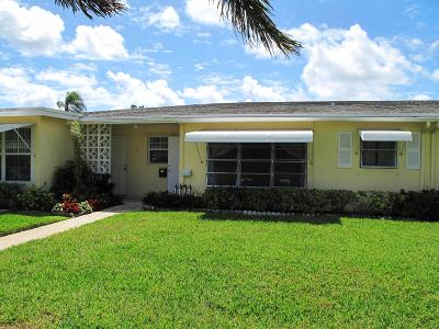 Delray Beach Single Family Home For Sale: 262 W High Point Court #B