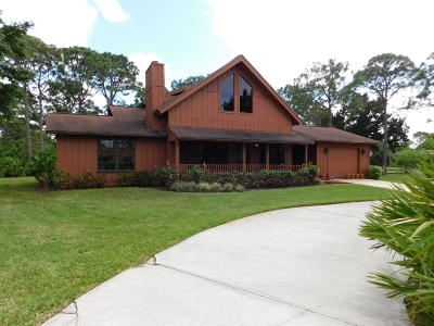 Palm Beach Gardens Single Family Home For Sale: 7264 159th Court