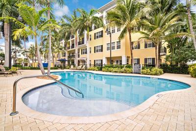 Palm Beach County Condo For Sale: 3120 E Latitude Circle #101s