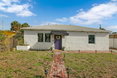 West Palm Beach Single Family Home Contingent: 957 30th Street