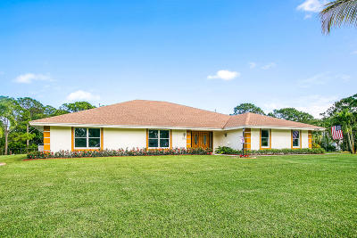 Palm Beach Gardens Single Family Home For Sale: 15782 75th Way