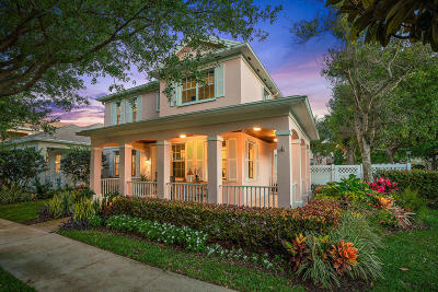Jupiter Single Family Home For Sale: 164 Promenade Way