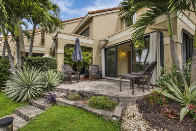 Palm Beach Gardens Townhouse For Sale: 2359 Treasure Isle Drive #A34