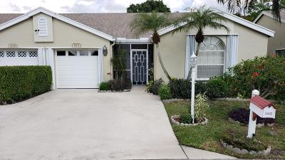 Greenacres Single Family Home For Sale: 3502 Westminster Drive