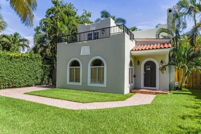 West Palm Beach Single Family Home For Sale: 209 Monroe Drive