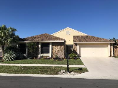 Boca Raton Single Family Home For Sale: 21021 Woodspring Avenue