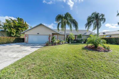 Tequesta Single Family Home Contingent: 4170 County Line Road