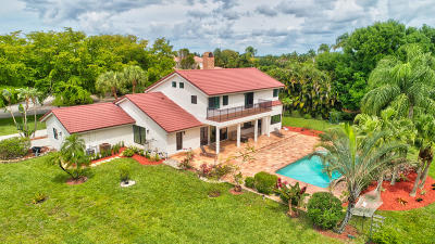 Delray Beach Single Family Home For Sale: 10401 Rio Lindo
