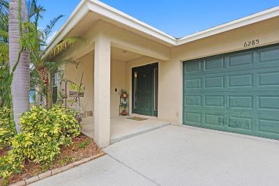 Jupiter Single Family Home For Sale: 6285 Pompano Street