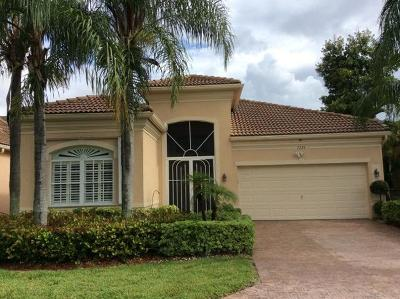 Delray Beach Single Family Home For Sale: 7295 Demedici Circle
