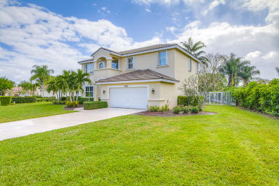 Lake Worth, Lakeworth Single Family Home For Sale: 6329 Old Medinah Circle