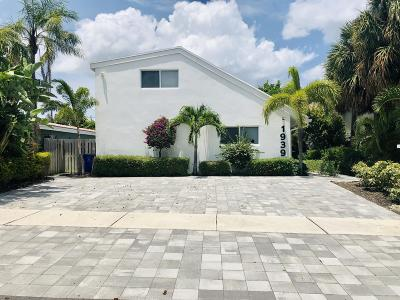 Deerfield Beach Single Family Home For Sale: 1939 NE 5th Street #A