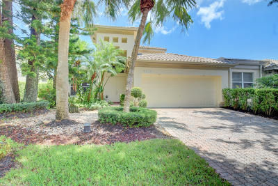 Delray Beach Townhouse For Sale: 6316 San Michel Way