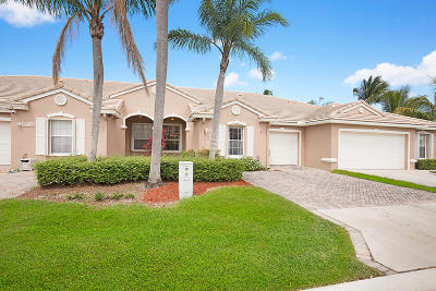 West Palm Beach Single Family Home Contingent: 8405 Cargill Point