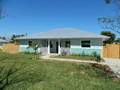 Stuart Single Family Home For Sale: 5111 SE Post Terrace