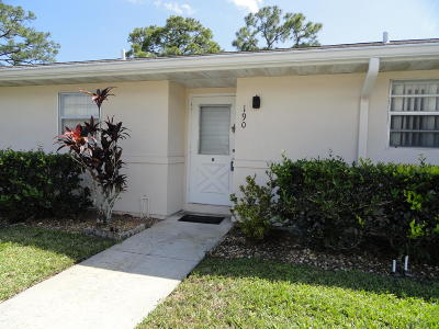 Lake Worth Single Family Home For Sale: 190 Cape Cod Circle