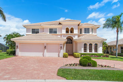 Boynton Beach Single Family Home For Sale: 6735 Cobia Circle