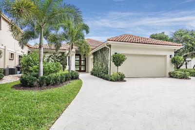 Palm Beach Gardens Single Family Home For Sale: 3827 Toulouse Drive