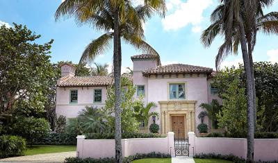Palm Beach Single Family Home For Sale: 130 Chilean Avenue