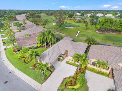 Palm Beach Gardens Single Family Home Contingent: 125 Coventry Place