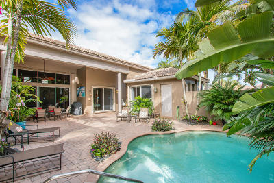 Delray Beach Single Family Home For Sale: 6469 Polo Pointe Way
