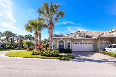 Port Saint Lucie Townhouse For Sale: 7071 Torrey Pines Circle