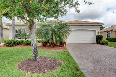 Boynton Beach Single Family Home For Sale: 9821 Halston Manor
