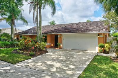 Jupiter Single Family Home For Sale: 18671 Misty Lake Drive