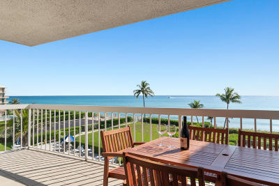 Palm Beach Rental For Rent: 3250 S Ocean Boulevard #406-N