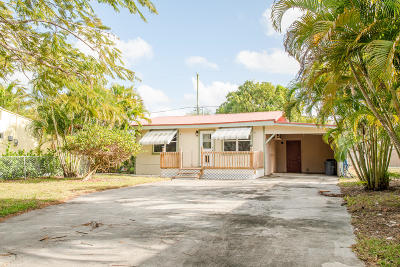 Jupiter FL Single Family Home For Sale: $195,000