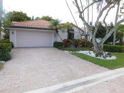Delray Beach Single Family Home For Sale: 7652 Glendevon Lane