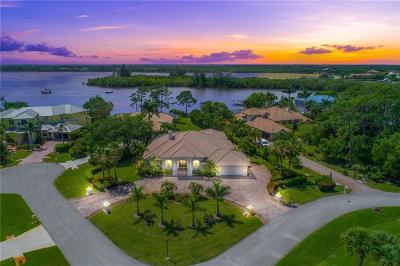 Port Saint Lucie Single Family Home Contingent: 3363 SE River Vista Drive