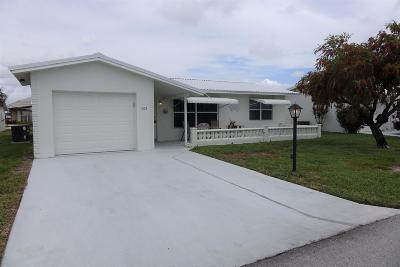 Boynton Beach Single Family Home Contingent: 1003 SW 3rd Avenue
