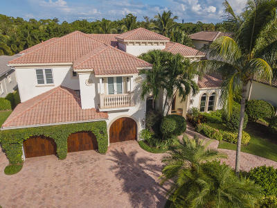 Palm Beach Gardens Single Family Home For Sale: 653 Hermitage Circle