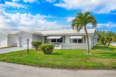 Boynton Beach Single Family Home For Sale: 2203 SW 20th Terrace
